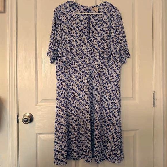 Michael Kors Dresses & Skirts - Micheal Kors 2x Purple Daisy Dress